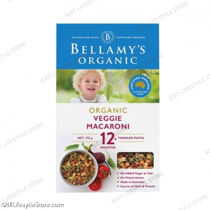 BELLAMY'S ORGANIC: Vegie Macaroni