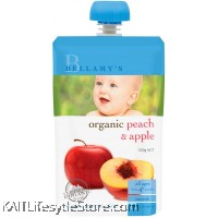 BELLAMY'S ORGANIC: Peach & Apple (120g)
