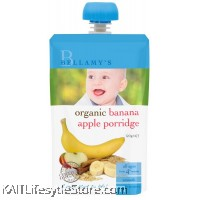 BELLAMY'S ORGANIC: Banana Apple Porridge (120g)