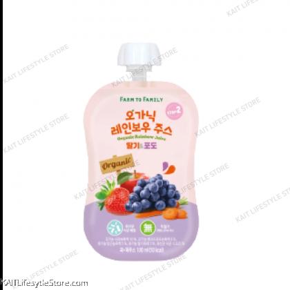 FARM TO BABY Organic Rainbow Juice (100ml) [12m+]