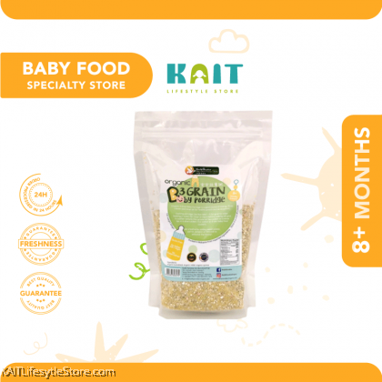 HEALTH PARADISE Organic 3 Grain Baby Porridge (500gm) [8months+]