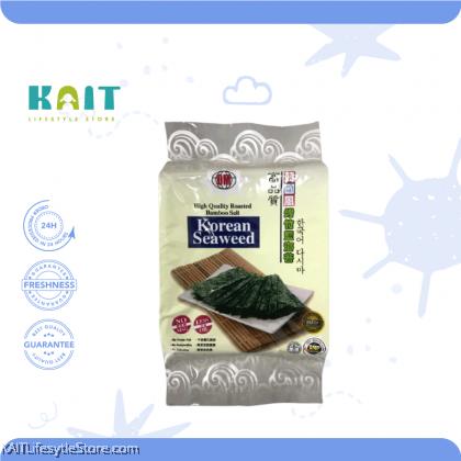 HEALTH PARADISE High Quality Roasted Bamboo Salt Korean Seaweed 8gm