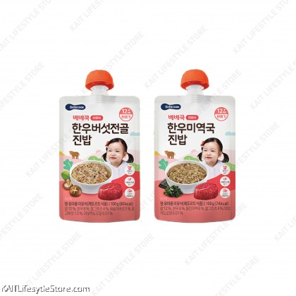 BEBECOOK Baby Porridge 100g (7~12m+)