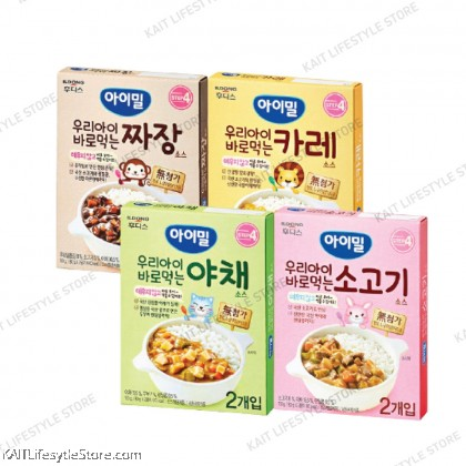 ILDONG Ayimeal Ready To Eat Cooking Sauce (80gx2) [12m+]