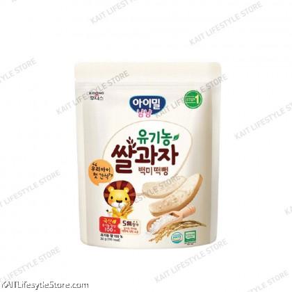 ILDONG Ayimeal YumYum Organic Rice Rusk 30g (6m+)