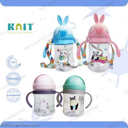 KAIT Kids Drinking Bottle w Handle (Random Color)
