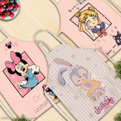 KAIT Apron Set Miney / Sailormoon / Stella Rabbit