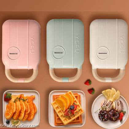 KAIT Waffle Maker Machine (Random Color: Pink/Mint)