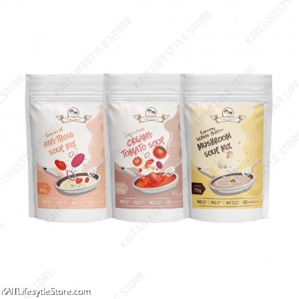 DOUBLE HAPPINESS Creamy Soup Premix 70~80g