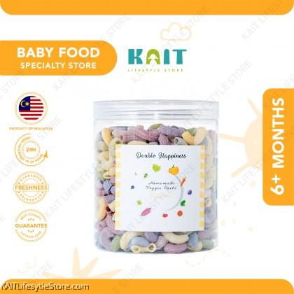 DOUBLE HAPPINESS Veggie Baby Pasta (200~300g) (6m+)