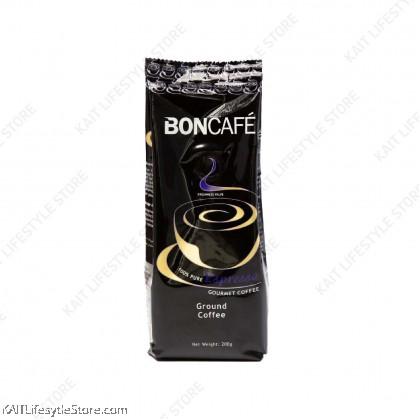 BONCAFE 100% Pure Ground Coffee Powder 200g [HALAL]