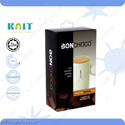 BONCAFE Instant Hot Chocolate Drink 5's x 28g [HALAL]