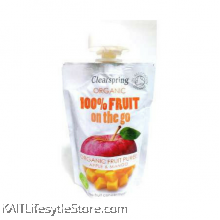 CLEARSPRING Fruit on the go - Apple/Mango (pouch), Organic (120gm)