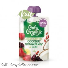 ONLY ORGANIC Coconut Strawberry & Gojiberry Smoothie