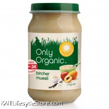 ONLY ORGANIC Bircher Muesli (170gm)