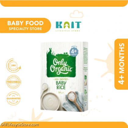 ONLY ORGANIC Baby Rice (box) 200gm [4m+]