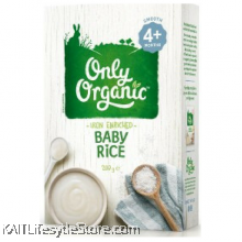 ONLY ORGANIC Baby Rice (box) 200gm