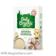 ONLY ORGANIC Banana Porridge (Box) 200gm