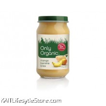 ONLY ORGANIC Mango Banana Bliss (170gm)