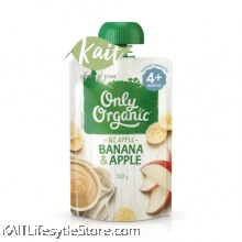 ONLY ORGANIC Banana and Apple Smoothie