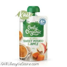 ONLY ORGANIC Sweet Potato and Apple