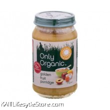 ONLY ORGANIC Golden Fruit Porridge (170gm)
