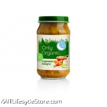 ONLY ORGANIC Vegetable  Lasagne (170gm)