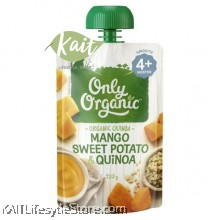 ONLY ORGANIC Sweet Potato, Mango & Quinoa
