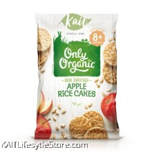 ONLY ORGANIC Baby Apple Rice Cakes