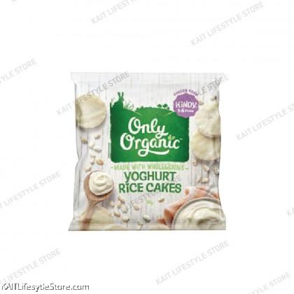 ONLY ORGANIC Junior Mini Yogurt  Rice cakes [12m+]