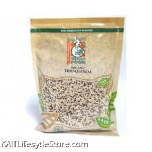 RADIANT Trio Quinoa, Organic (Red,black ,white Quinoa) (500gm)