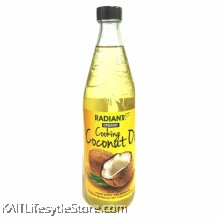 RADIANT Cooking coconut oil,organic (750ml)