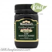 WOODLANDS Organic Manuka Honey  MG 450+