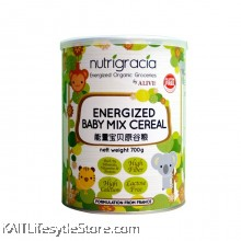 NUTRIGRACIA Energized Baby Mix Cereal 700 g