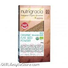 NUTRIGRACIA Org. Flax Seed Powder 300 g