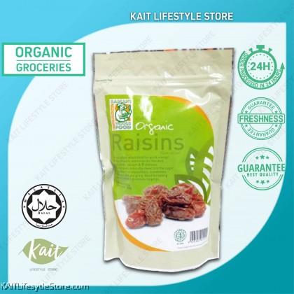 RADIANT Raisins,Organic (250gm)