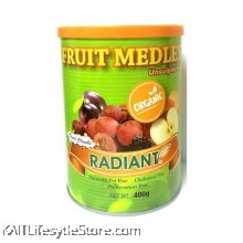 RADIANT Fruit Medley, Organic (Tub container) 400gm