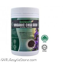 RADIANT Chia Seeds,Organic (200gm)