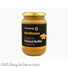 CLEARSPRING Peanut butter Crunchy , Organic