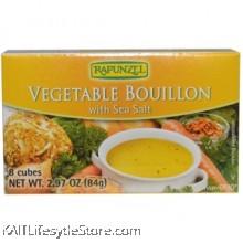 RAPUNZEL Vegetable buillion with sea salt, Organic.(cubes) 2.97oz