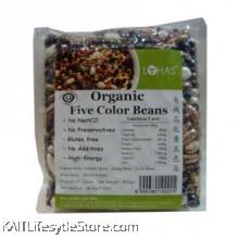LOHAS: Organic Five Colour Beans 500gm