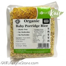 LOHAS: Organic Baby Porridge Rice 500gm