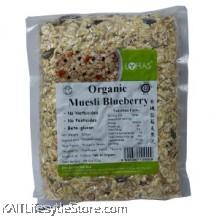 LOHAS: Organic Muesli Blueberry 600gm