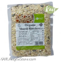 LOHAS: Organic Muesli Blueberry 600gm