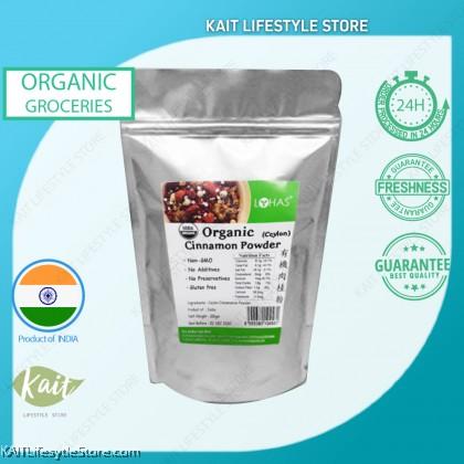 LOHAS Organic Cinnamon Powder (100gm)