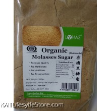 LOHAS: Organic Molasses Sugar 900gm