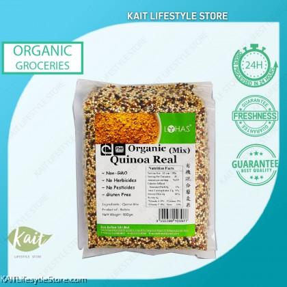 LOHAS Organic Tri-Colour Quinoa (500gm)