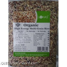 LOHAS: Organic High Energy Multi-Grain Rice 900gm