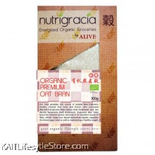 NUTRIGRACIA: Organic Premium Oat Bran 300gm