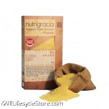 NUTRIGRACIA: Organic Corn Grit 200gm